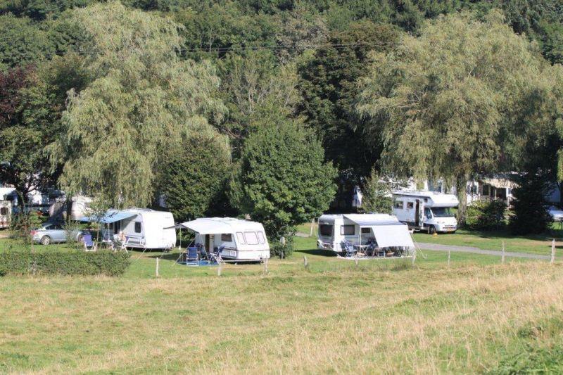 Kampeerplaats voor caravan